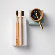 Grin Charcoal-Infused Bamboo Toothbrush - Twin Pack - Grin Natural Australia