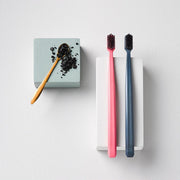 Grin Bio Toothbrush Twin Pack - Pink & Navy (Soft) - Grin Natural Australia