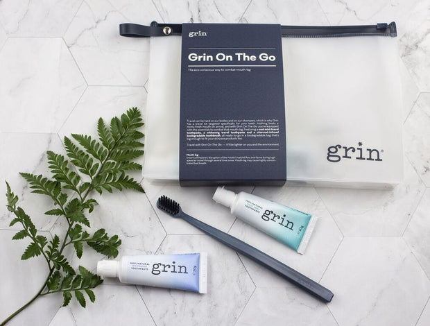 Grin Natural Whitening Travel Toothpaste 20g - Grin Natural Australia