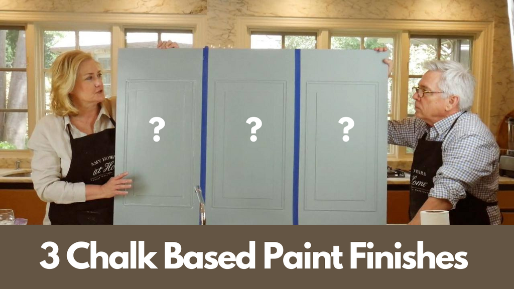 3 Types Of Chalk Based Paint Finishes