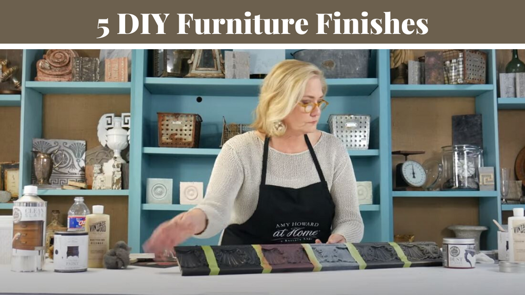 5 DIY Furniture Finishes To Recreate