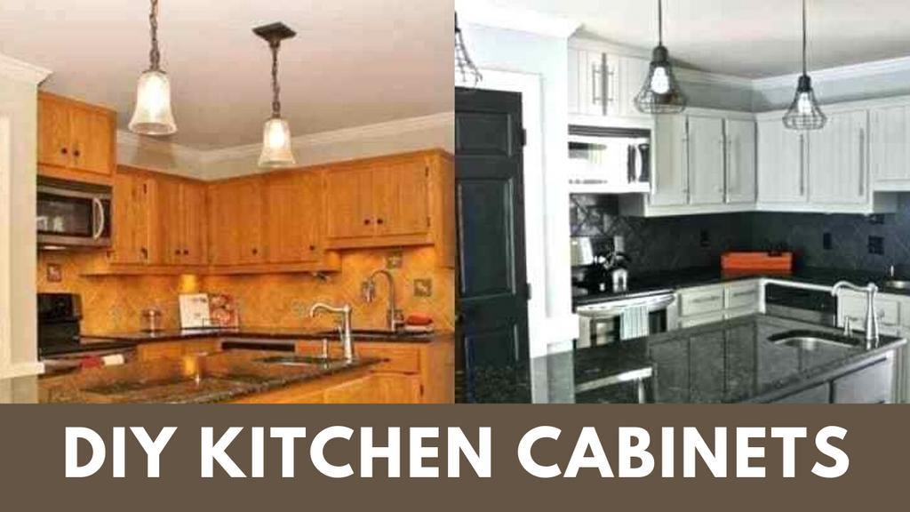 Easily Paint Kitchen Cabinets