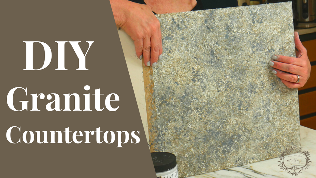Create A Faux Granite Finish