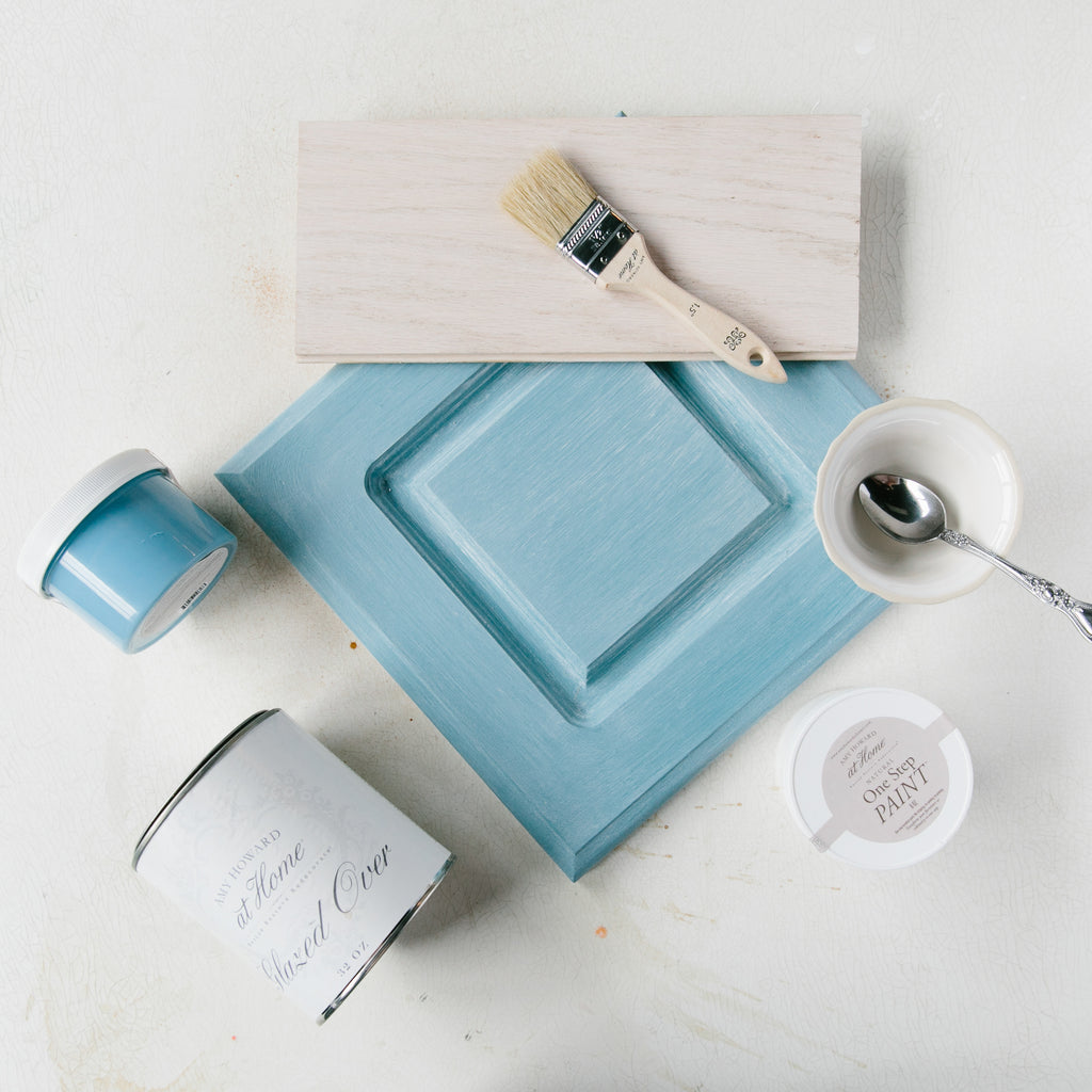 How to Use Amy Howard's Glazing Techniques to Add Boho Chic Style and Texture to Your Refinished Furniture