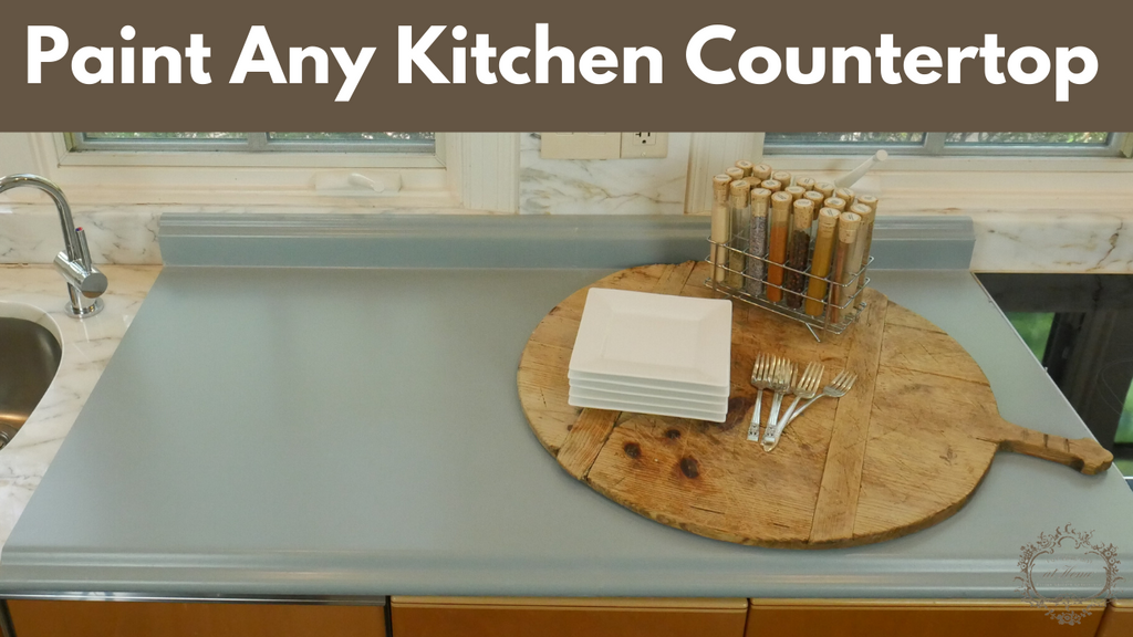 How To Easily Paint Any Kitchen Countertop