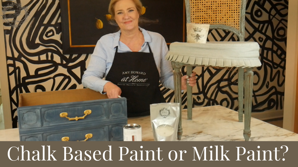 Milk Paint or Chalk Based Paint | What Should I Use?