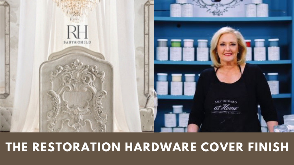 Re-Create The Restoration Hardware Cover Finish