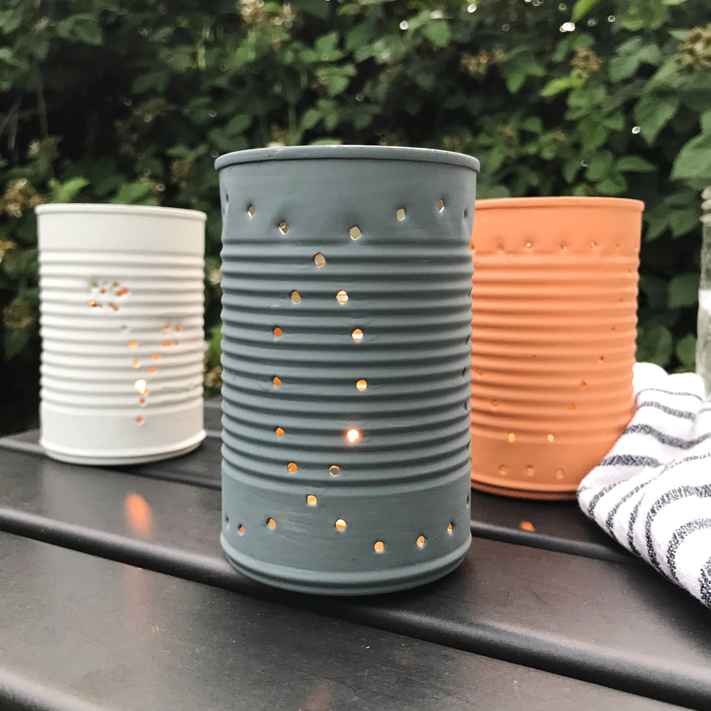 Fall Tin Lanterns
