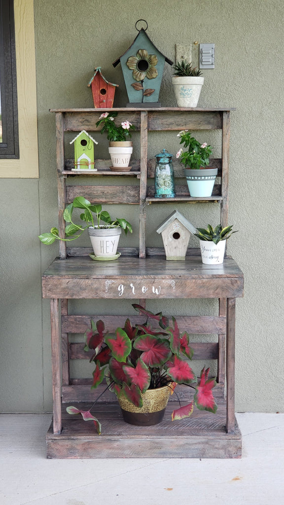 Rescue, Restore, Redecorate: Potting Bench