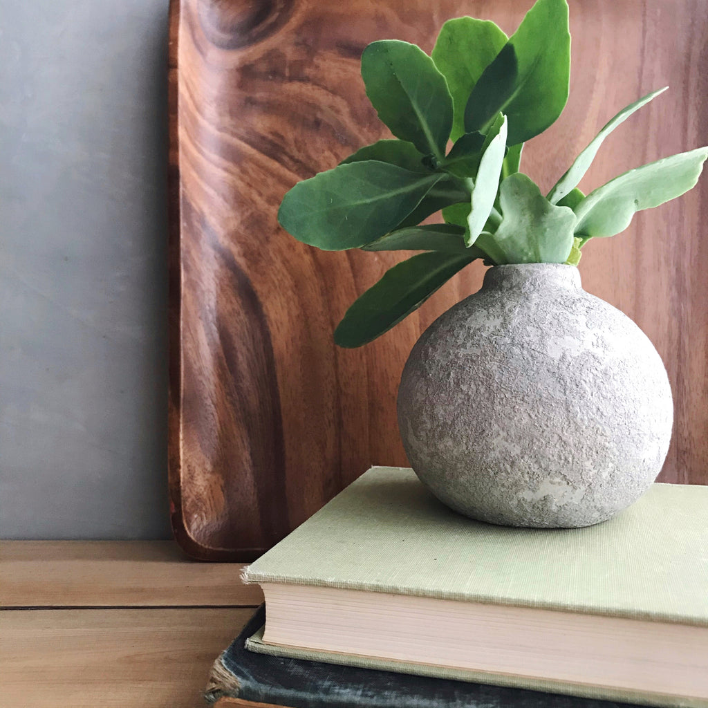 DIY CRACKED PATINA VASE