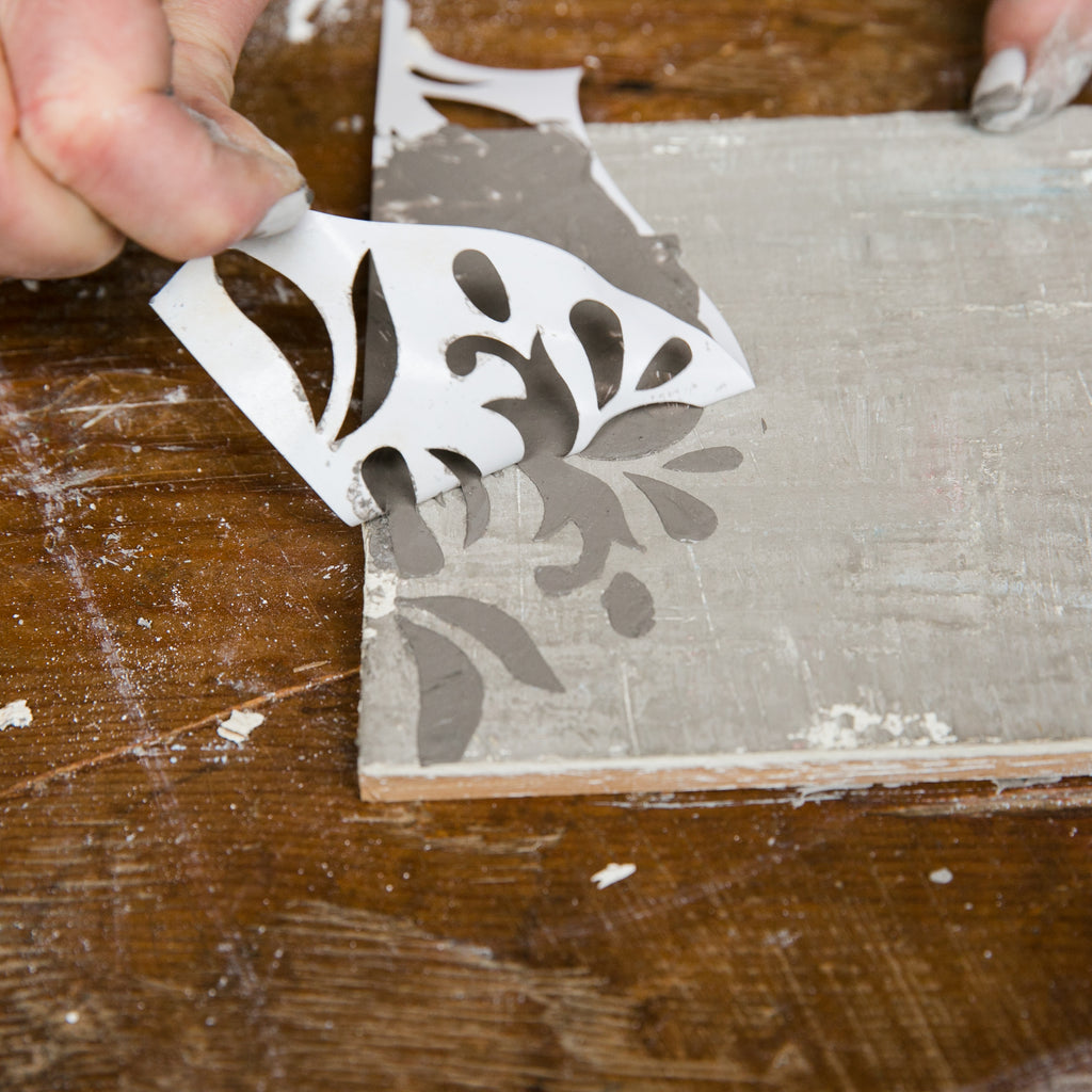 How to Create Aged and Stenciled Wood Furniture