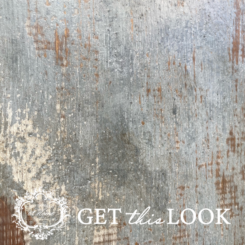 Get This Look: Multi Layer Antiqued Finish