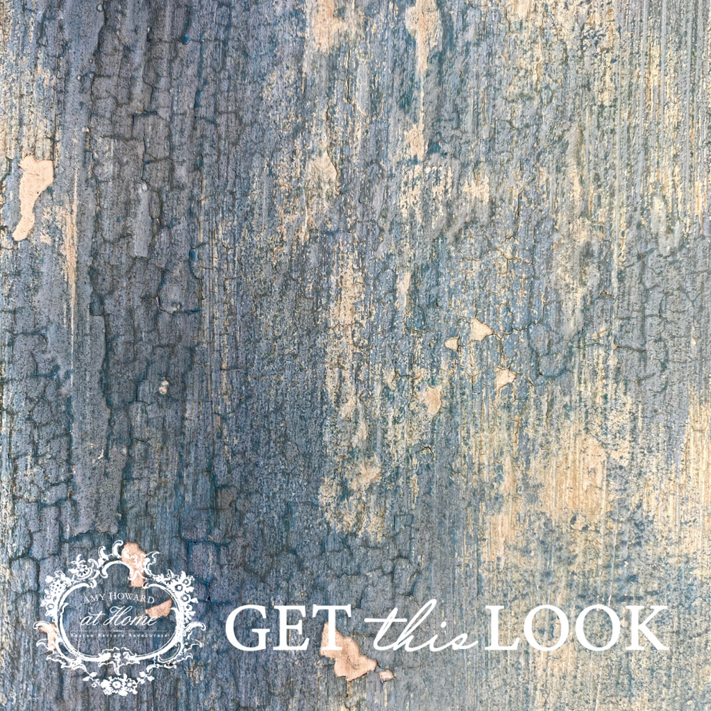 Get This Look: Chippy Barnwood Painted Finish