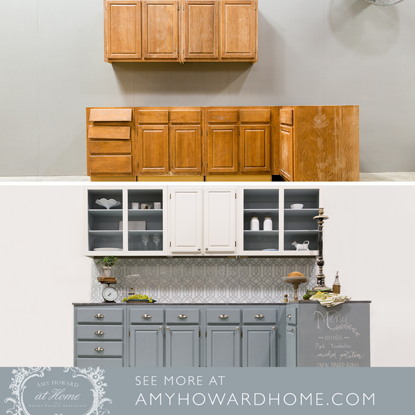 The Easy Way To Refinish Cabinets Amy Howard At Home