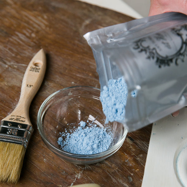 Vintage chic finishes are always in style, and Amy Howard has all the tips and tricks to help you create them. Follow this vintage chic wood tutorial to see how you can add pigment, texture, and depth to your raw wood pieces.
