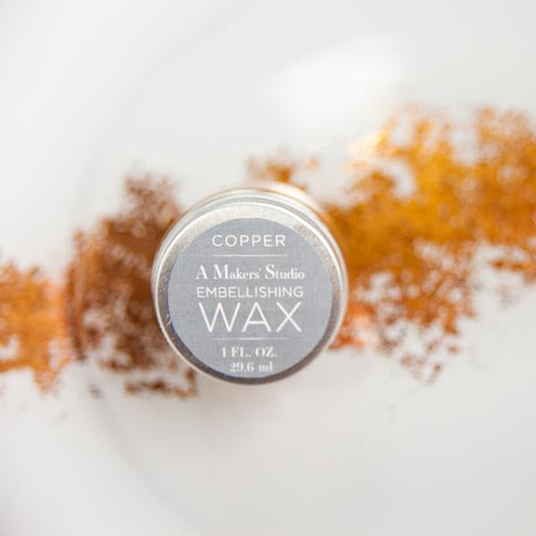 Copper Embellishing Wax - 1 oz.