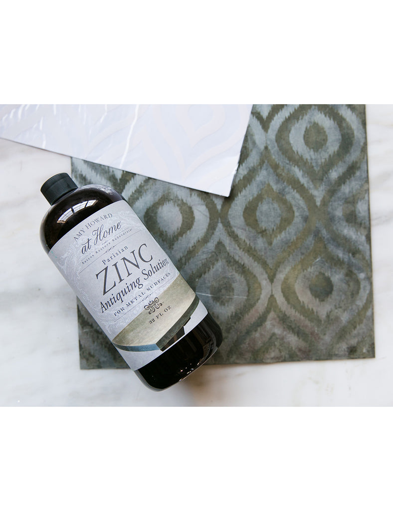 Zinc Antiquing Solution