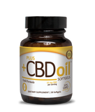 Plus+ CBD Gold Formula Soft Gels