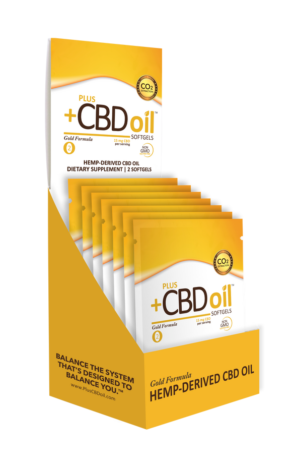 Plus+ CBD Pillow Sample Packs