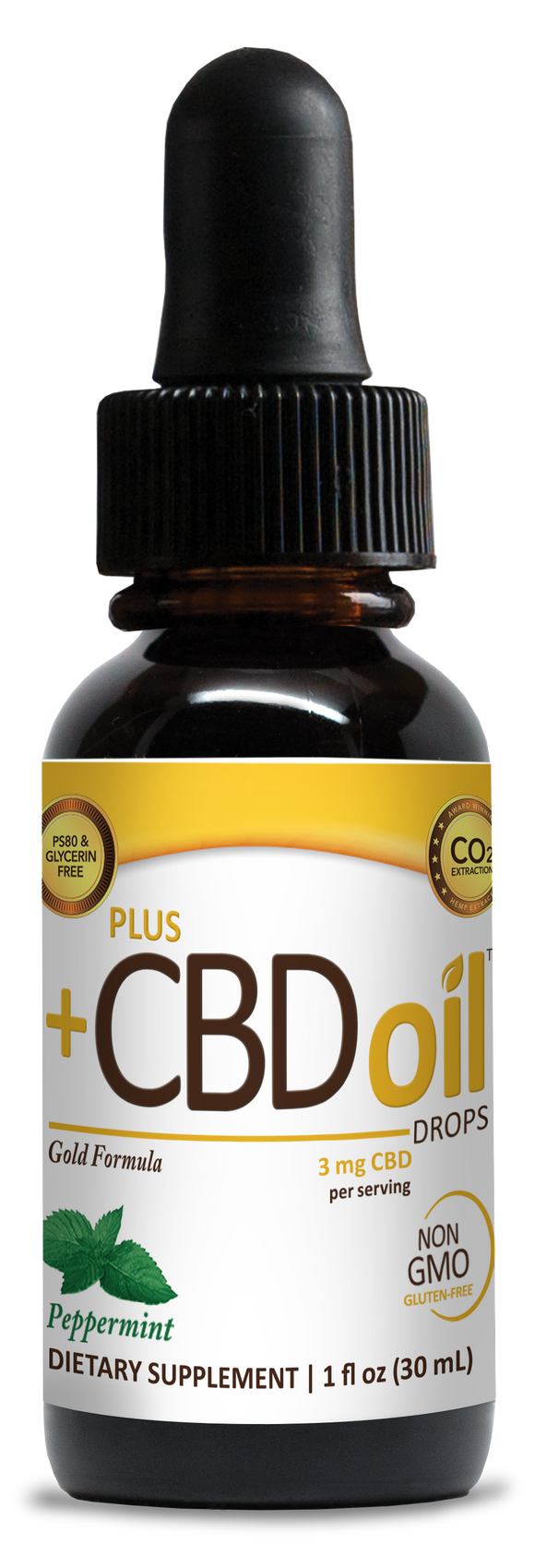 Plus +CBD Gold Drops