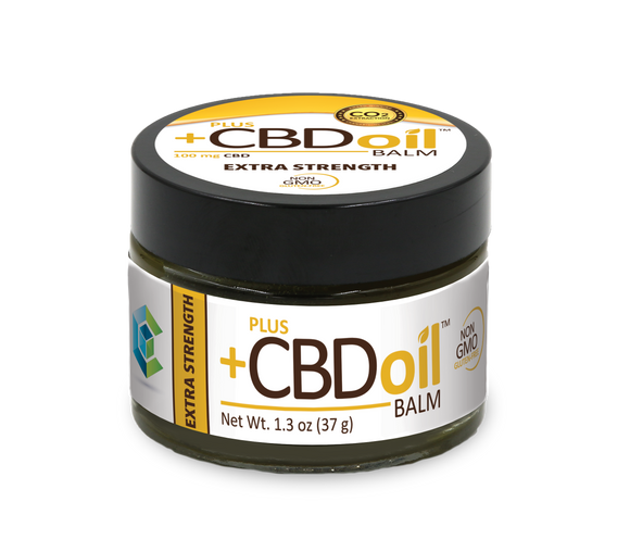 Plus+ CBD Gold Balm