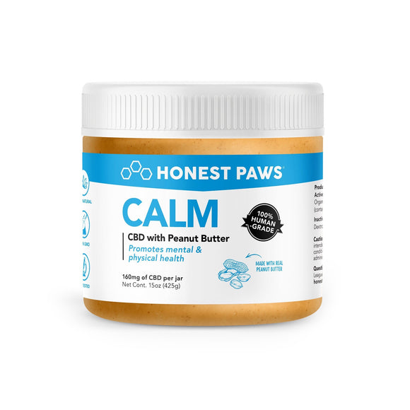 Honest Paws CBD Infused Gourmet Peanut Butter