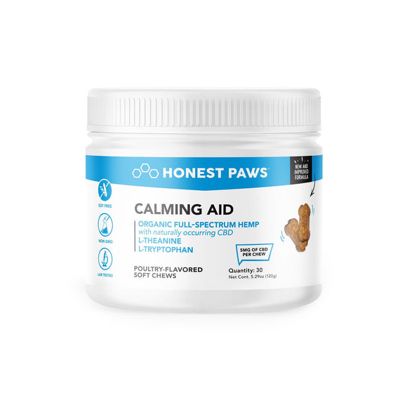 Honest Paws CBD Calming Aide Soft Chews