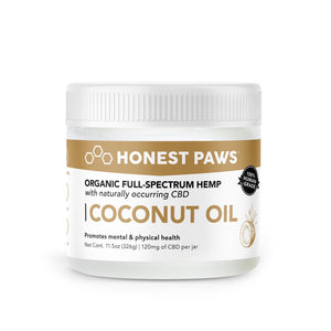 Honest Paws CBD Infused Coconut Oil