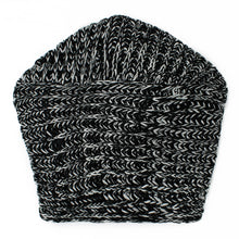 Load image into Gallery viewer, Knit Twist Knot Black White Turban | Sold Out