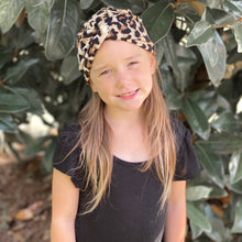 Load image into Gallery viewer, Kids + Adult | Leopard Matching Turbans