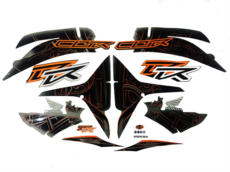 Motorcycle Fairings Decal / Sticker Honda CBR600RR 2007-2012