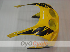 Injection ABS Fairing kit For Honda CBR250RR 1988-1989 - Yellow, Black - Factory Style