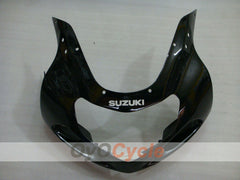 Injection ABS Fairing kit For Suzuki GSXR600 2001-2003 - Black - Factory Style