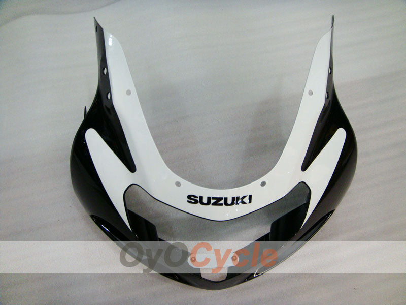 Injection ABS Fairing kit For Suzuki GSXR600 2001-2003 - White, Black - Factory Style