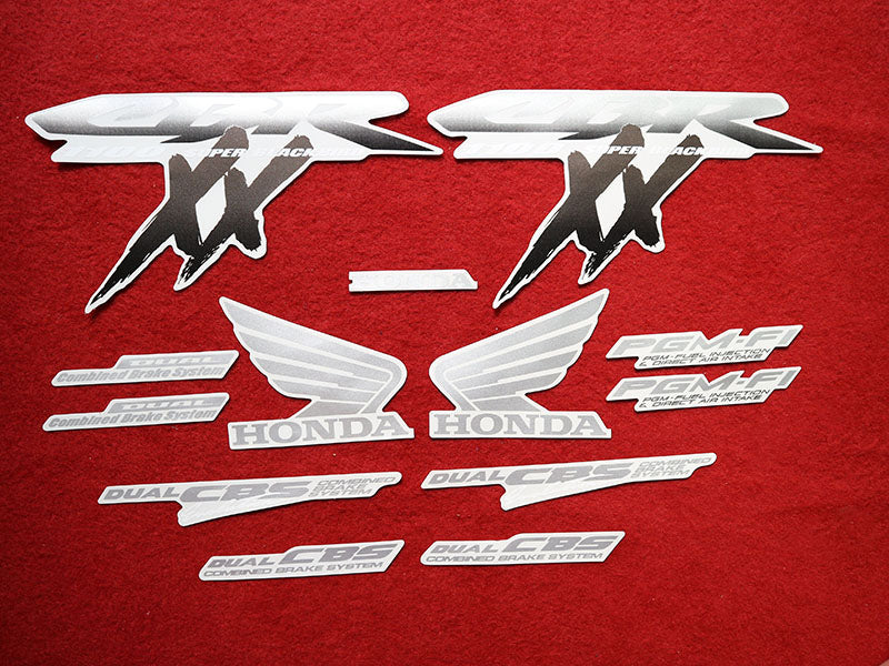 Motorcycle Fairings Decal / Sticker Honda CBR1100XX 1996-2007