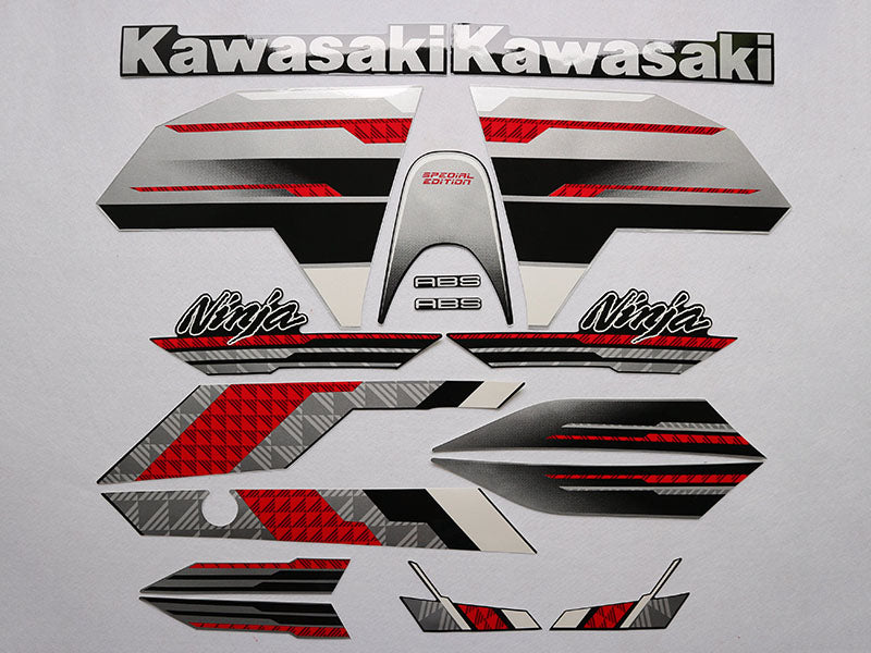 Motorcycle Fairings Decal / Sticker Kawasaki - Ninja ZX300R  2013