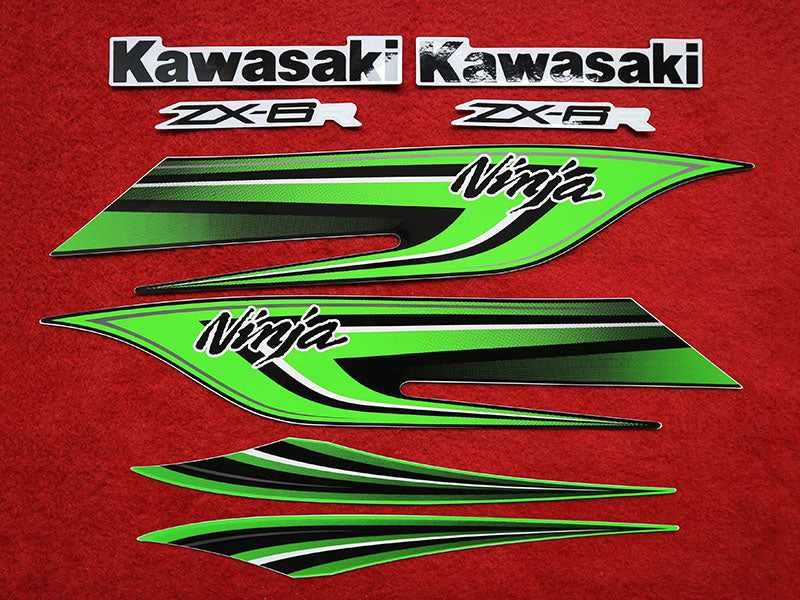Motorcycle Fairings Decal / Sticker Kawasaki - NinjaZX6R  2009-2012
