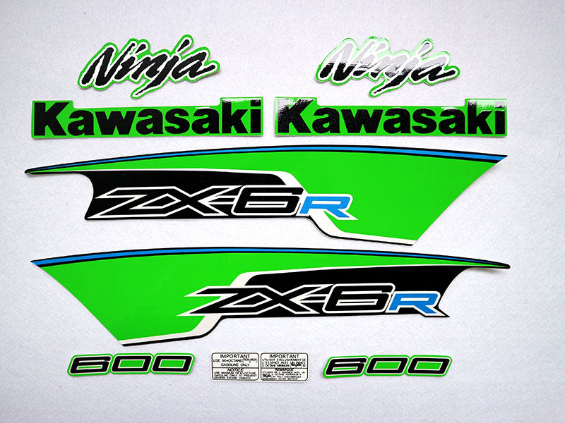 Motorcycle Fairings Decal / Sticker Kawasaki - NinjaZX6R  2012