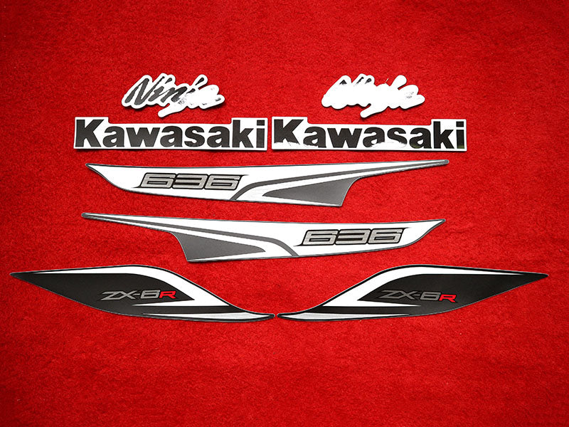 Motorcycle Fairings Decal / Sticker Kawasaki - NinjaZX6R  2013