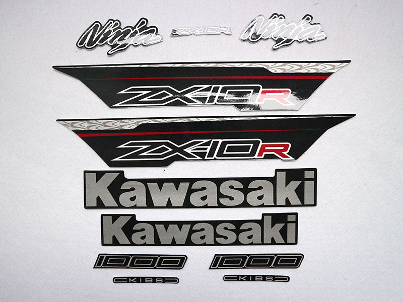 Motorcycle Fairings Decal / Sticker Kawasaki - NinjaZX10R  2011-2015