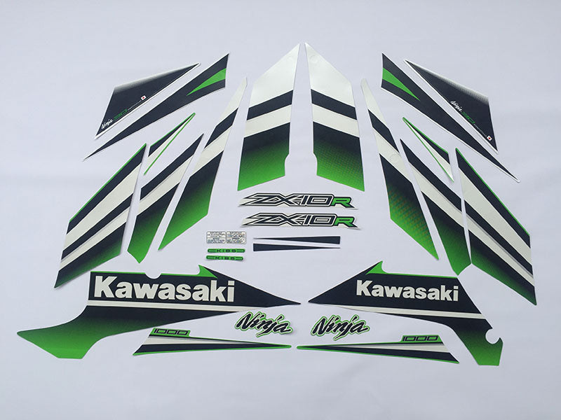 Motorcycle Fairings Decal / Sticker Kawasaki - NinjaZX10R  2015
