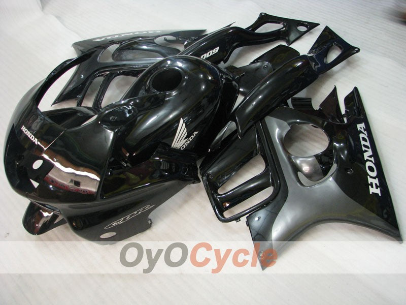 Injection ABS Fairing kit For Honda CBR600F3 1997-1998 - Black - Factory Style