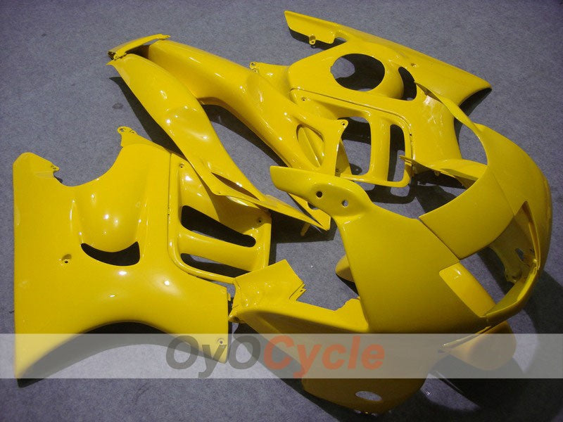 Injection ABS Fairing kit For Honda CBR600F3 1997-1998 - Yellow - Factory Style