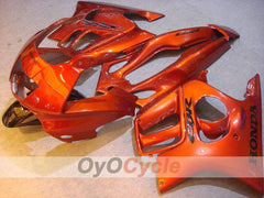 Injection ABS Fairing kit For Honda CBR600F3 1995-1996 - Orange - Factory Style