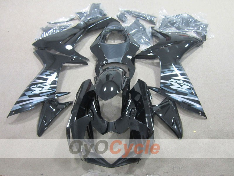 Injection ABS Fairing kit For Suzuki GSXR600 2011-2016 - Black - Factory Style
