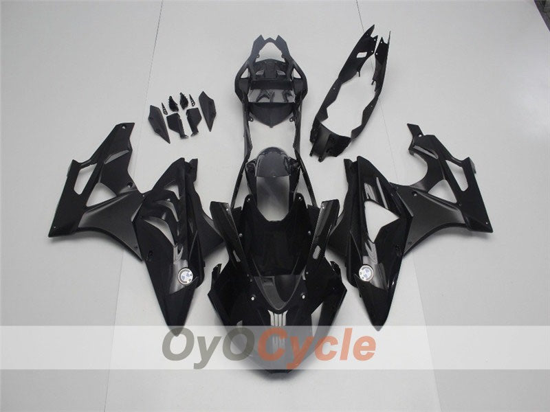 Injection ABS Fairing kit For Bmw S1000RR 2009-2014 - Black, Matte - Factory Style