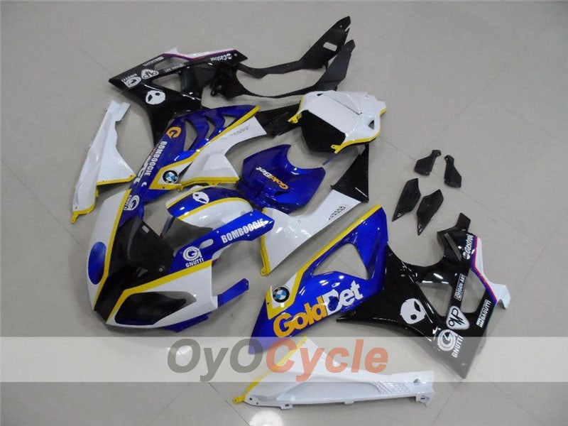 Injection ABS Fairing kit For Bmw S1000RR 2009-2014 - Blue, Black - Factory Style