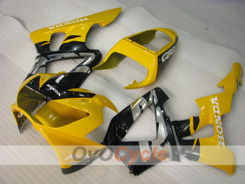 Injection ABS Fairing kit For Honda CBR929RR 2000-2001 - Yellow Black - Fireblade