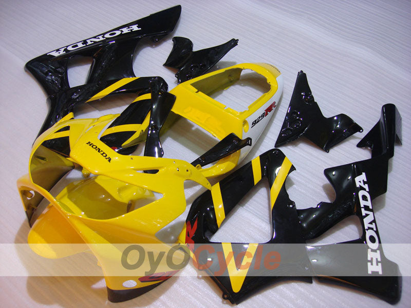 Injection ABS Fairing kit For Honda CBR929RR 2000-2001 - Yellow Black - Factory Style
