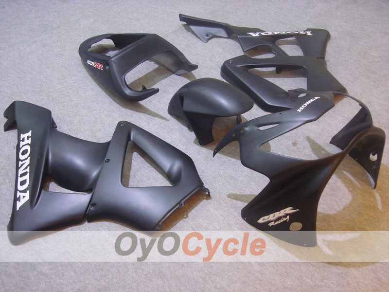 Injection ABS Fairing kit For Honda CBR929RR 2000-2001 - Black Matte - Factory Style